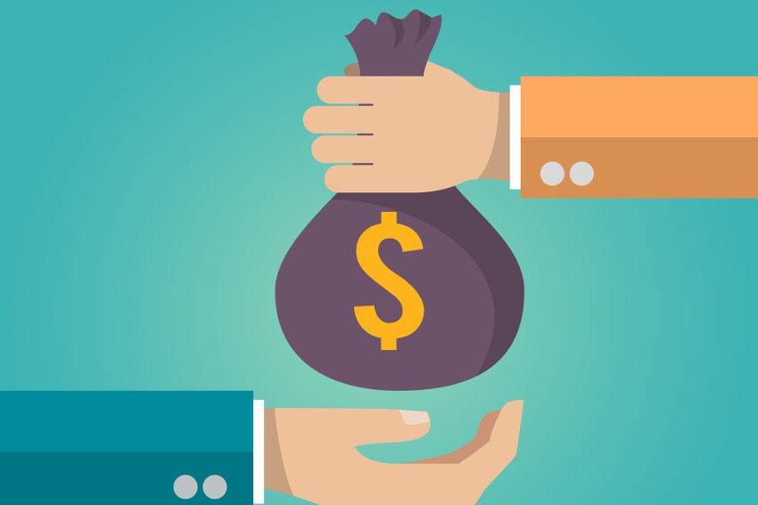 Debt financing via a lender
