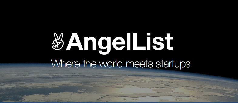 AngelList logo and tagline