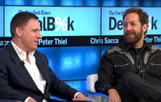 Peter Thiel and Chris Sacca - Venture Capital Investors