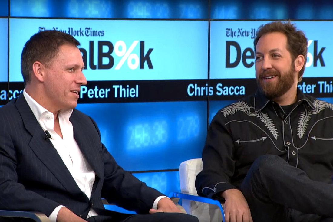 Peter Thiel and Chris Sacca - Venture Capital Investors
