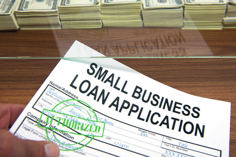 Small business loan application - authorized