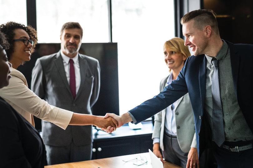 Financial firms partnership