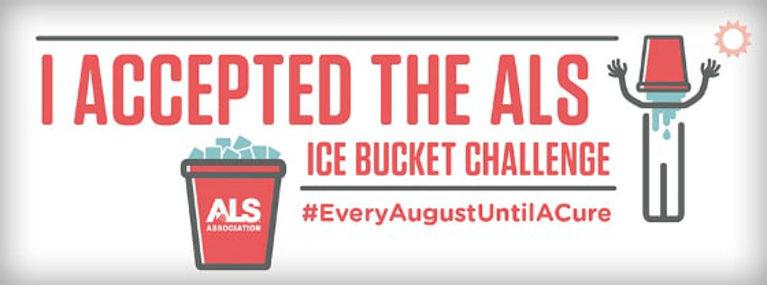 Ice bucket challenge banner